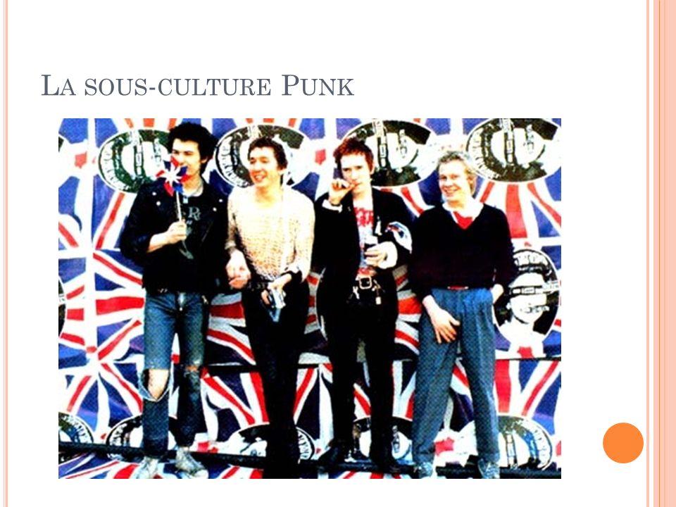 La sous-culture Punk «!Je suis contre ceux qui se plaignent du Top Of #e Pops. [émission musicale hebdomadaire britannique extrêmement.